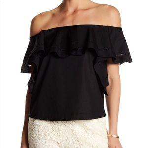 118ffb15dc9 Rachel Zoe Tops - Rachel Zoe Leanna Off-the-shoulder blouse - size 2